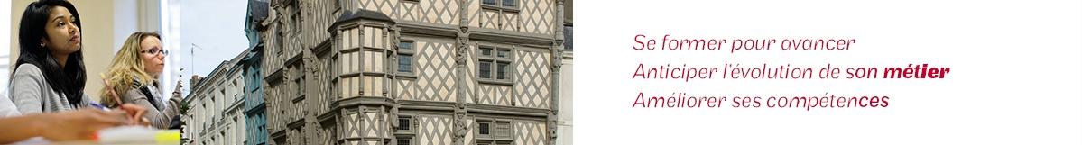 Se former à Angers