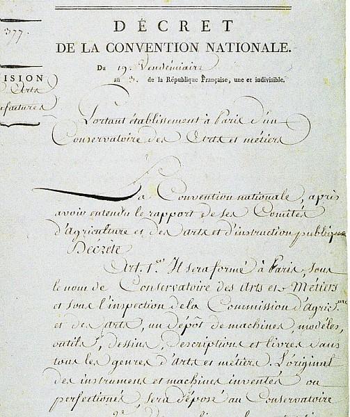 Décrêt de la convention nationale